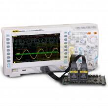 MSO2202A-S - Osciloscopio 2 canais com 200 MHz gerador de onda de banda, 2 GSa / s e 16 LA RIGOL