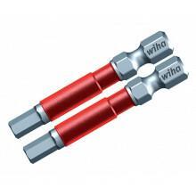 GTW76864 - Bit Terminator Impact Power Hex 4 mm x 49 mm 2 peças WIHA