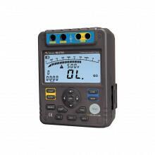 MI-2705 - Megômetro digital portátil 5KV/ 1Tῼ CAT III 600V- MINIPA