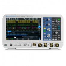RTA4000 – Osciloscópio Digital com 4 canais, largura de banda de 200 MHz, tx de amostragem 5 Gsample/s, resolução ADC de 10 bits - ROHDE & SCHWAZ